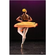 "Trademark Global Martha Guerra ""Ballerina II"" Canvas Art, 24"" x 16"""