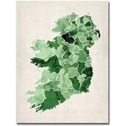 "Trademark Global Michael Tompsett ""Ireland Watercolor"" Canvas Art, 47"" x 35"""