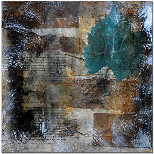 "Trademark Global Nicole Dietz ""Memento II"" Canvas Art, 24"" x 24"""
