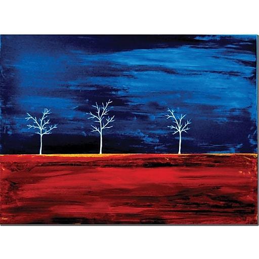 "Trademark Global Nicole Dietz ""Scorched"" Canvas Art, 14"" x 19"""