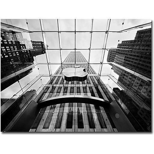 "Trademark Global Nina Papiorek ""NYC, Big Apple"" Canvas Art, 24"" x 32"""