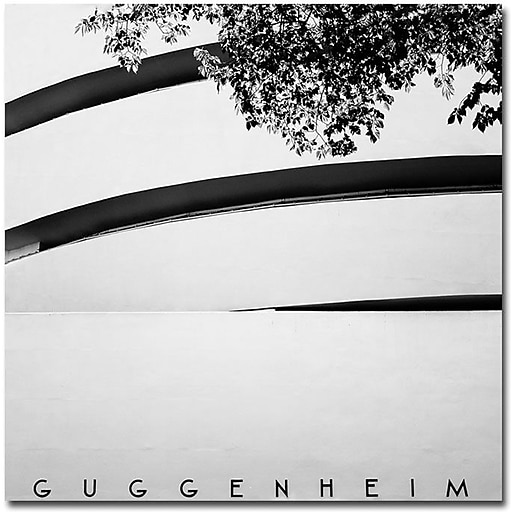 "Trademark Global Nina Papiorek ""Guggenheim"" Canvas Art, 18"" x 18"""