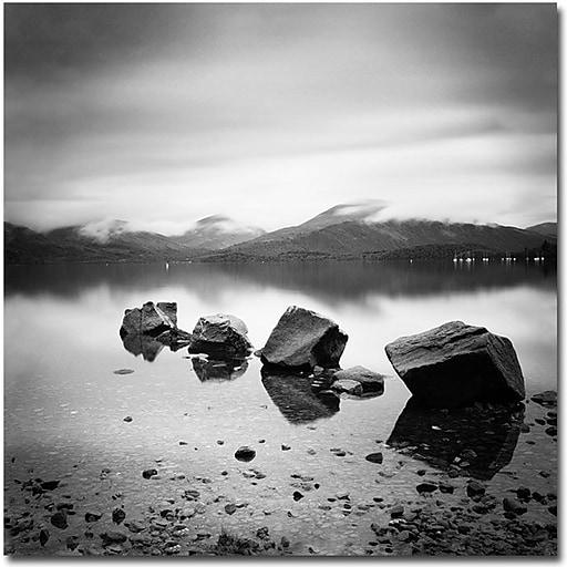 "Trademark Global Nina Papiorek ""Scotland, Loch Lomond"" Canvas Art, 35"" x 35"""