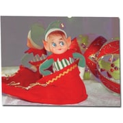 "Trademark Global Patty Tuggle ""Dreams of Xmas"" Canvas Art, 18"" x 24"""