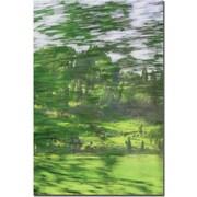 "Trademark Global Patty Tuggle ""A Look Beyond"" Canvas Art, 24"" x 16"""