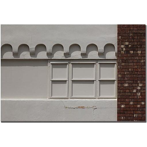 "Trademark Global Patty Tuggle ""Window Painting"" Canvas Art, 16"" x 24"""