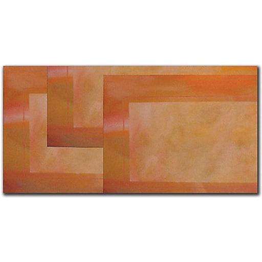 "Trademark Global Rickey Lewis ""Les Corners"" Canvas Art, 16"" x 24"""
