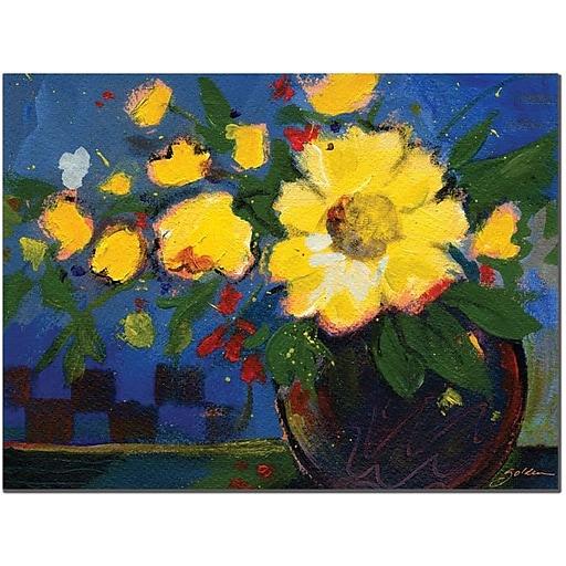 """Trademark Global Sheila Golden """"Fiesta"""" Canvas Art, 24"""" x 32"""""""
