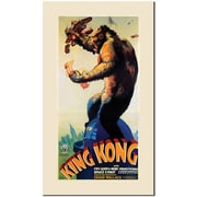 "Trademark Global ""King Kong"" Canvas Art, 47"" x 24"""