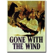 """Trademark Global """"Gone with the Wind"""" Canvas Art, 19"""" x 14"""""""