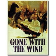 """Trademark Global """"Gone with the Wind"""" Canvas Art, 24"""" x 18"""""""