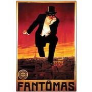 "Trademark Global ""Fantomas"" Canvas Art, 19"" x 14"""