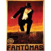 "Trademark Global ""Fantomas"" Canvas Art, 47"" x 35"""