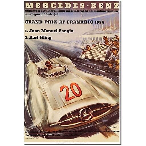 """Trademark Global H. Liskars """"Mercedes Benz"""" Canvas Art, 24"""" x 18"""""""