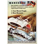 "Trademark Global ""Mercedes Benz"" Canvas Art, 24"" x 18"""