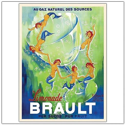 """Trademark Global Phillipe Hnoyer """"Limondade Brault"""" Canvas Art, 47"""" x 35"""""""