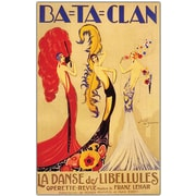 "Trademark Global Jose de Zamora ""Bataclan"" Canvas Art, 47"" x 35"""