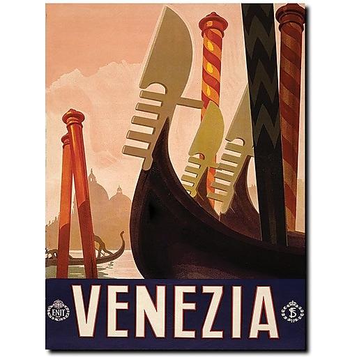 "Trademark Global ""Venezia"" Canvas Art, 32"" x 24"""