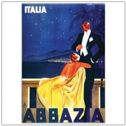 "Trademark Global ""Italia Abbazia"" Canvas Art, 32"" x 26"""
