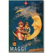"Trademark Global ""Maggi"" Canvas Art, 24"" x 18"""