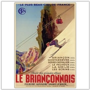 "Trademark Global ""Le Brianconnais Vintage"" Canvas Art, 24"" x 18"""