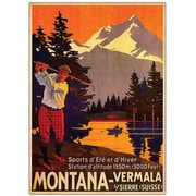 "Trademark Global ""Montana"" Canvas Art, 32"" x 26"""