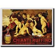 "Trademark Global Leopoldo Metlicovitz ""Chianti Ruffino"" Canvas Art, 36"" x 48"""