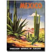 "Trademark Global ""Mexico Cacti"" Canvas Art, 24"" x 18"""