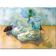 "Trademark Global Wendra ""Barefoot"" Canvas Art, 18"" x 24"""