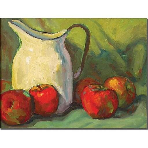 "Trademark Global Wendra ""Milk Pitcher"" Canvas Art, 18"" x 24"""