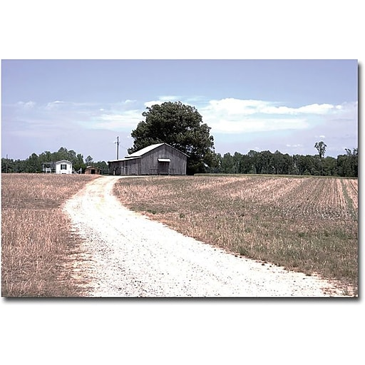 "Trademark Global Yale Gurney ""The Farm"" Canvas Art, 16"" x 24"""