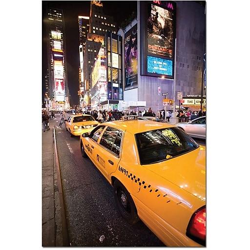 "Trademark Global Yale Gurney ""Big Lights"" Canvas Art, 19"" x 14"""