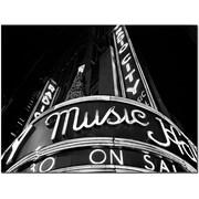 "Trademark Global Yale Gurney ""Radio City"" Canvas Art, 14"" x 19"""