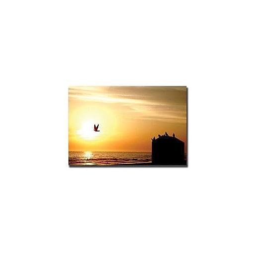 "Trademark Global Yale Gurney ""By the Sea"" Canvas Art, 24"" x 32"""
