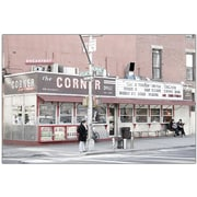"Trademark Global Yale Gurney The Corner Deli"" Canvas Art, 18"" x 24"""