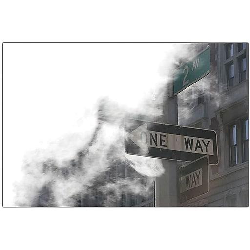 "Trademark Global Yale Gurney ""One Way"" Canvas Art, 18"" x 24"""