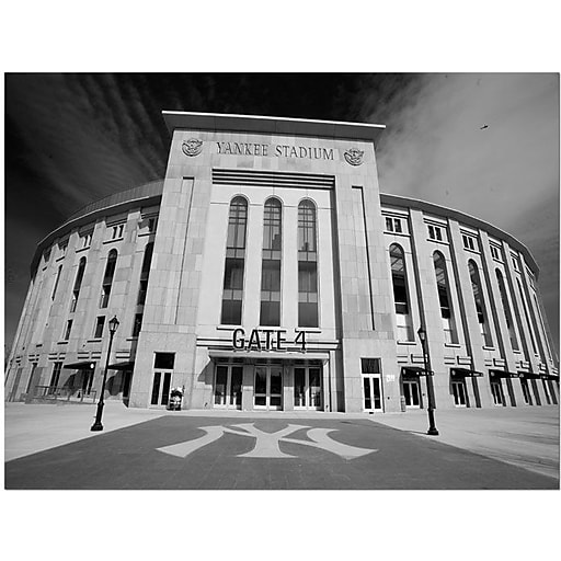 "Trademark Global Yale Gurney ""The Stadium"" Canvas Art, 18"" x 24"""