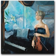 "Trademark Global Yelena Lamm ""Before the Concert"" Canvas Arts"