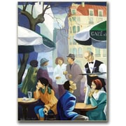 "Trademark Global Yelena Lamm ""City Scene"" Canvas Art, 24"" x 18"""