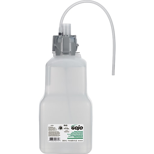 GOJO Green Certified Foam Hand Cleaner refill, 2.3 L, 4/Ct (CX, CXI, & CXT Systems)