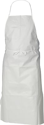 KleenGuard A40 Liquid and Particle Protection Clothing Apron, White, 28