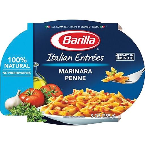 Barilla Italian Entrees, Marinara Penne, 6 Packs/Box