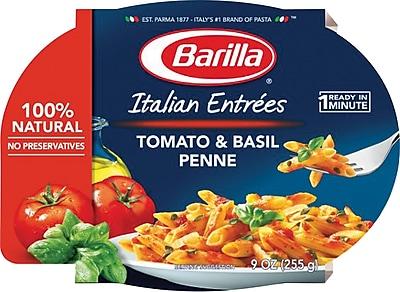 Barilla Italian Entrees, Tomato & Basil Penne, 6 Packs/Box