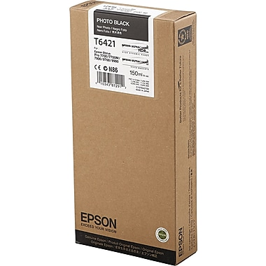 Epson 642 150ml Photo Black UltraChrome HDR Ink Cartridge (T642100)
