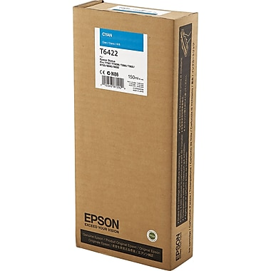 Epson 642 150ml Cyan UltraChrome HDR Ink Cartridge (T642200)