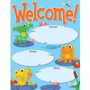 Carson-Dellosa FUNky Frogs Welcome Chart