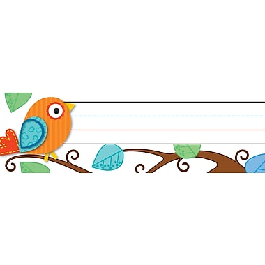 Carson-Dellosa Boho Birds Nameplates, 30/pack (119030)