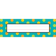 Carson-Dellosa Teal Appeal Nameplate