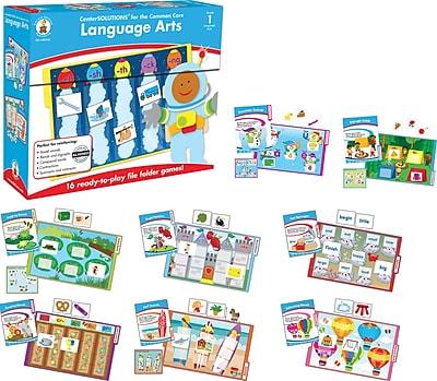 Carson-Dellosa Language Arts File Folder Game, Grade 1
