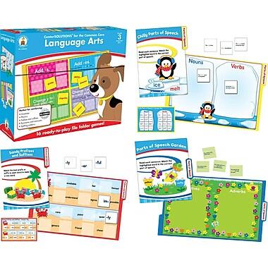 Carson-Dellosa Language Arts File Folder Game, Grade 3
